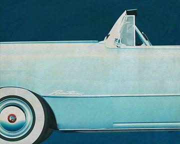Pontiac Chieftain Cabriolet 1950 von Jan Keteleer
