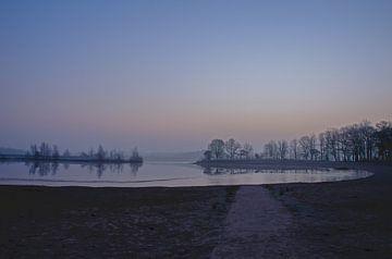 Landschaft im Winter von Ans Bastiaanssen