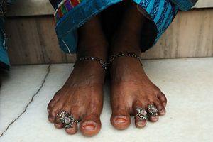 Versierde voeten