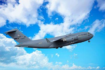 C-17 Boeing Globemaster III, USA sur Gert Hilbink