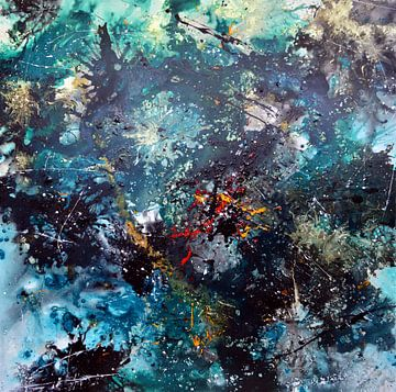 Abstrakt2 von Gena Theheartofart