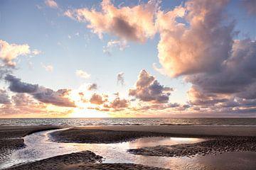 Sonnenuntergang auf Schiermonnikoog von Karijn | Fine art Natuur en Reis Fotografie