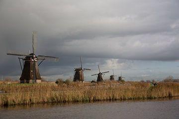 Kinderdijk 1 van Andre Jansen