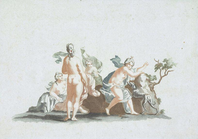 Diana und ihre Nymphen von Atelier Liesjes