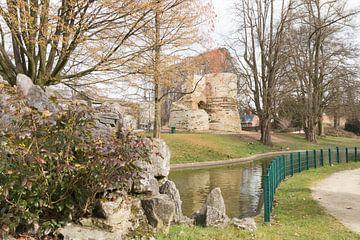 Historie in een park van Rijk van de Kaa