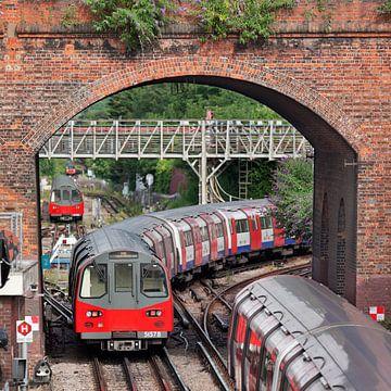 Londen Underground van David Bleeker