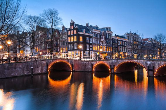 Amsterdam Keizersgracht / Leliegracht van Frenk Volt