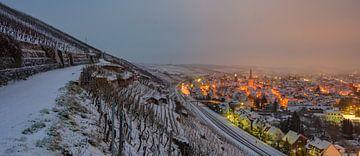 Winterpanorama Ahrweiler van Heinz Grates