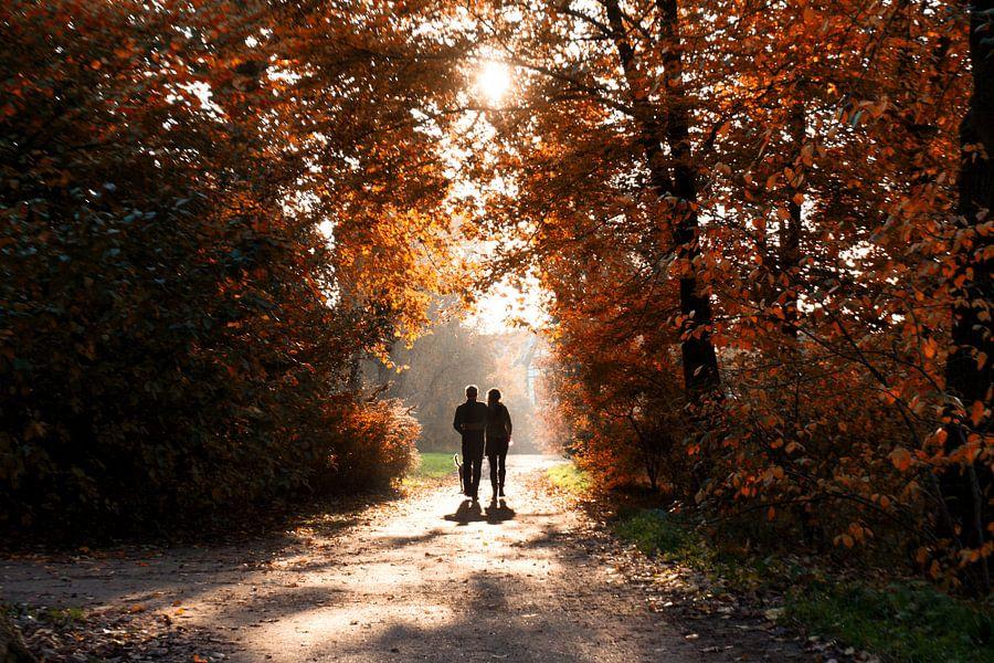 Koppel in de Herfst