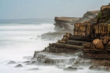 Die raue Sintra-Küste, Portugal von Lars van de Goor