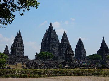 Prambanan temple van Christine Volpert