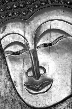 Silber Buddha von Kirsten Warner