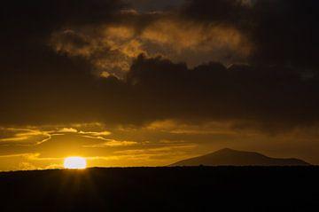 Untergehenden Sonne von Onno van Kuik