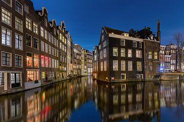 Avondfoto Amsterdam Red light district