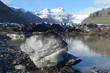 Ijsschots Skaftefell ijsland van