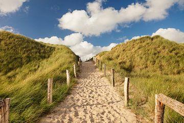 Sylt, weg door de duinen van Markus Lange