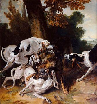 Der Hallali des Wolfes, Jean-Baptiste Oudry
