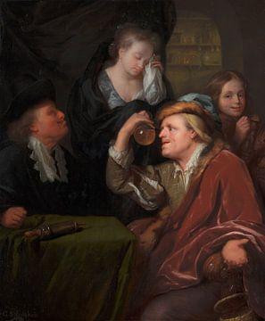 Die ärztliche Untersuchung, Godefridus Schalcken