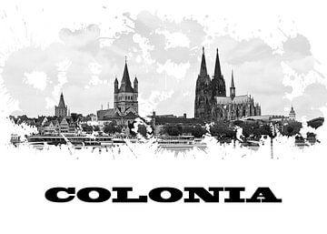 Köln van Printed Artings