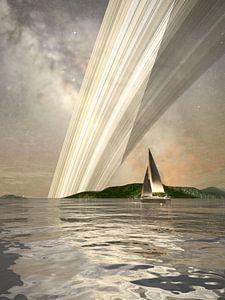 Sailing by the Ringlight van Frans Blok