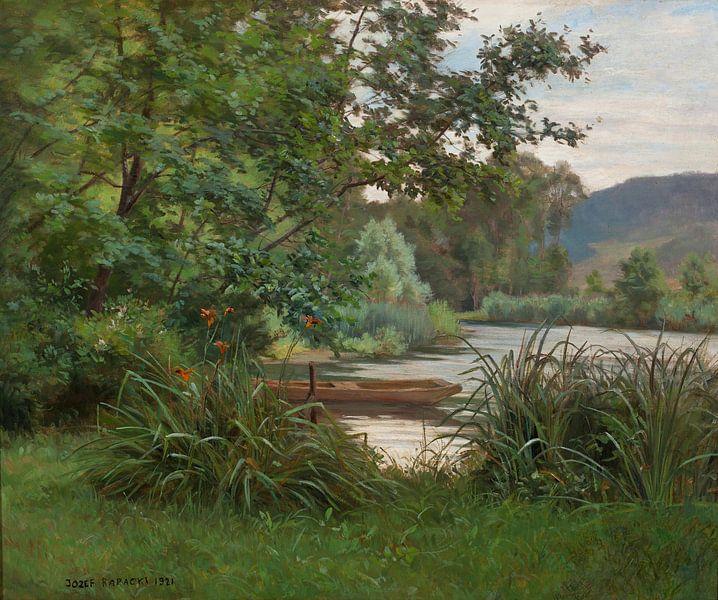Józef Rapacki-Teich im Wald von finemasterpiece