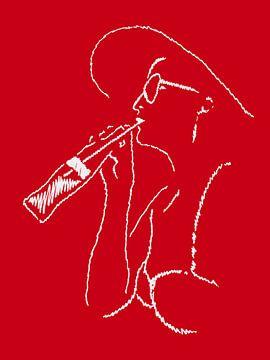 Coca-Cola an einem sonnigen Tag von Natalie Bruns