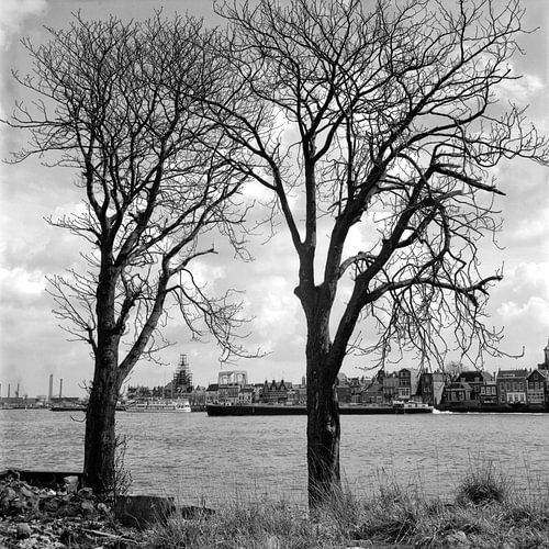 Dordrecht - Zwijndrecht 1970 von Dordrecht van Vroeger