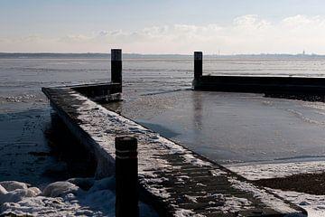 Winterlandschap in Nederland. von Brian Morgan