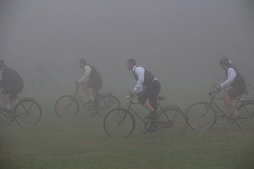Beierse wieler wedstrijd in de mist van