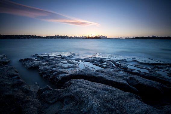 Sydney Panorama bij het Blauwe Uur