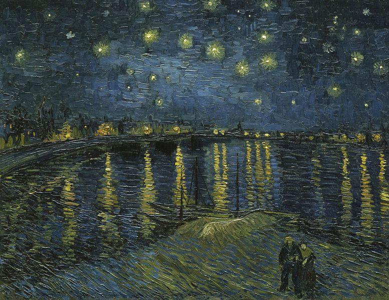 Sternennacht - Vincent van Gogh von 1000 Schilderijen