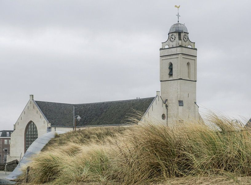Witte kerk van Katwijk van Dirk van Egmond