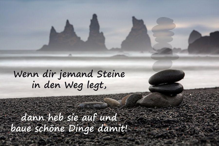 Wenn dir jemand Steine in den Weg legt von Andreas Müller