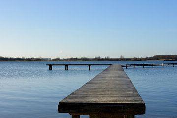 De rust van het Zeeuwse water. Die Ruhe des Zeeland Wassers. The tranquility of the Zeeland water. L von Addy van den Bosse