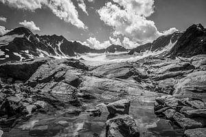 Bachfallen gletscher