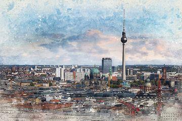 Skyline Berlin sur Arjen Roos