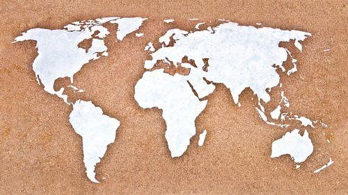 Wereldkaart Industriëel