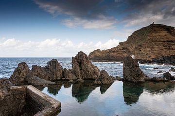 natuur zwembad in porto moniz madeira van Compuinfoto .