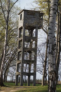 Verdedigingstoren Gdánsk Westerplatte wieża van Maurits Bredius