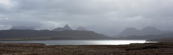 Contrast in Schotland van Marloes van Pareren