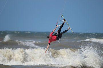 Kitesurf-Sprung von Rob Hansum