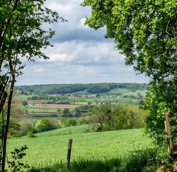 Panorama van Zuid-Limburg
