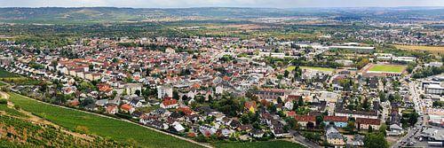 Büdesheim (Bingen am Rhein), Luftbild Panorama (08.2020) von shop.menard.design - (Luftbilder Onlineshop)