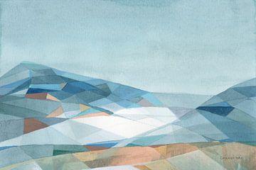 Geometrische berg, Danhui Nai van Wild Apple