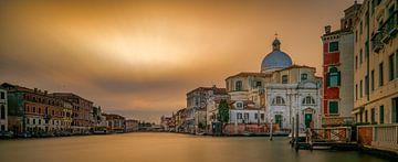 Venise - Grand Canal -Chiesa di San Geremia sur Teun Ruijters