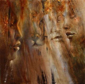 Faces van Annette Schmucker