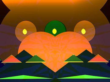 Peace Frog van Judith Robben