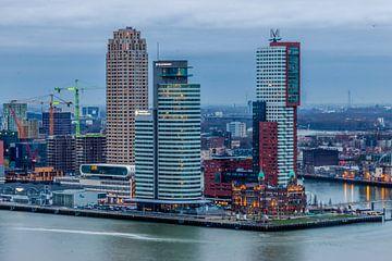 Kop van Zuid Hotel NewYork Rotterdam van RvR Photography (Reginald van Ravesteijn)
