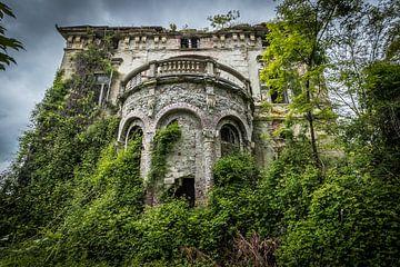 Verlassene Villa von Inge van den Brande