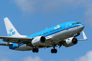 KLM vliegtuig van Sjoerd van der Wal